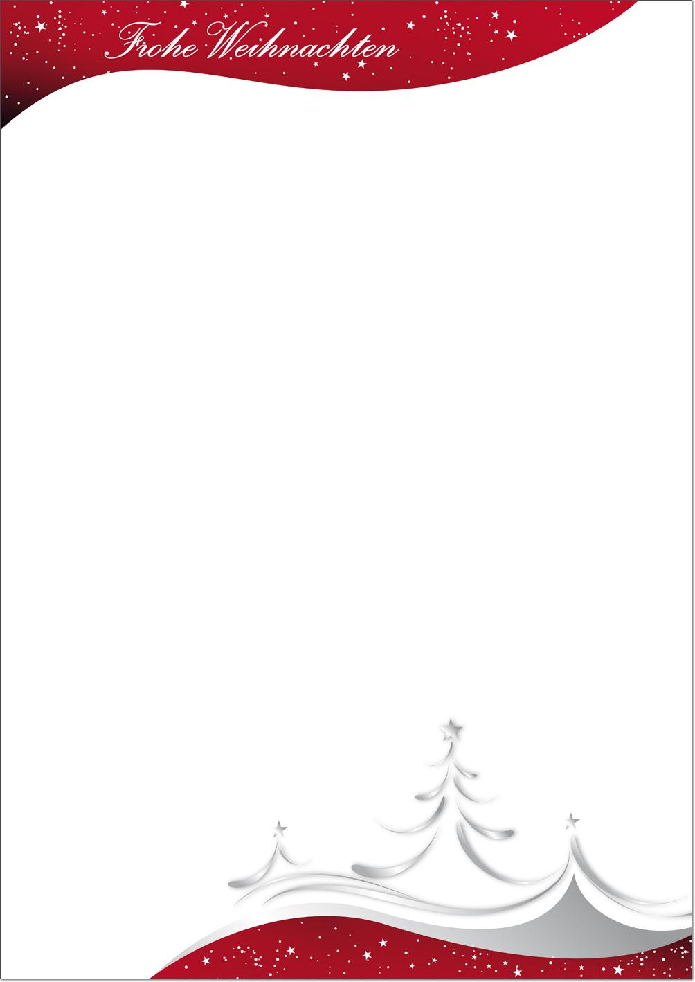 weihnachtsbriefpapier gro e auswahl an fertigen motiven. Black Bedroom Furniture Sets. Home Design Ideas