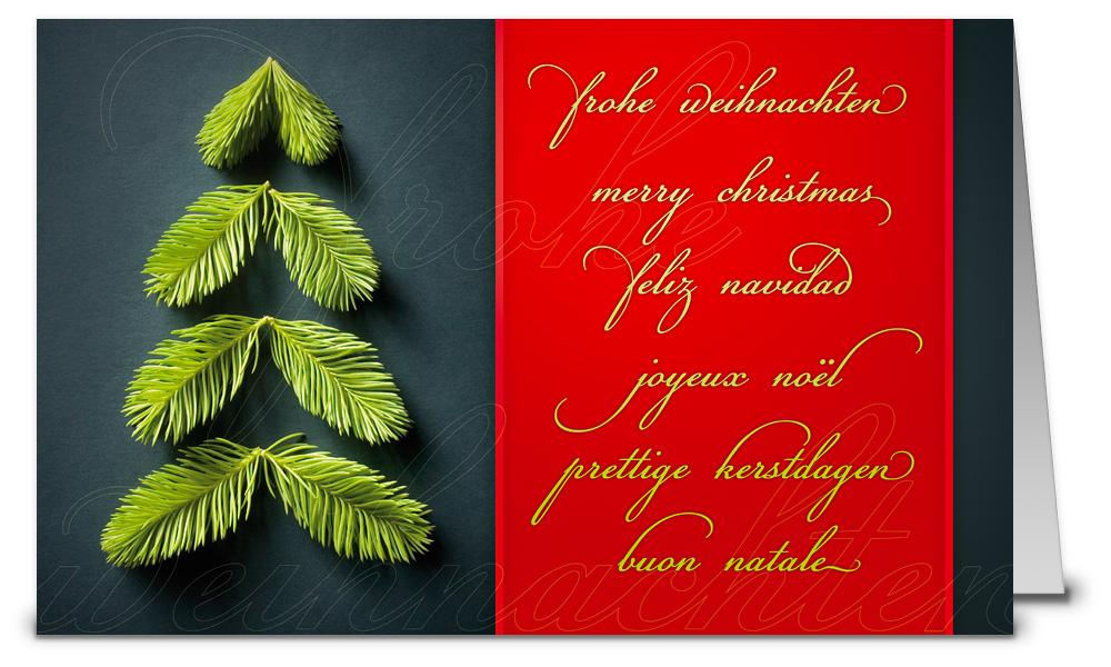 Rote weihnachtskarten international wk15186 - Weihnachtskarten shop ...