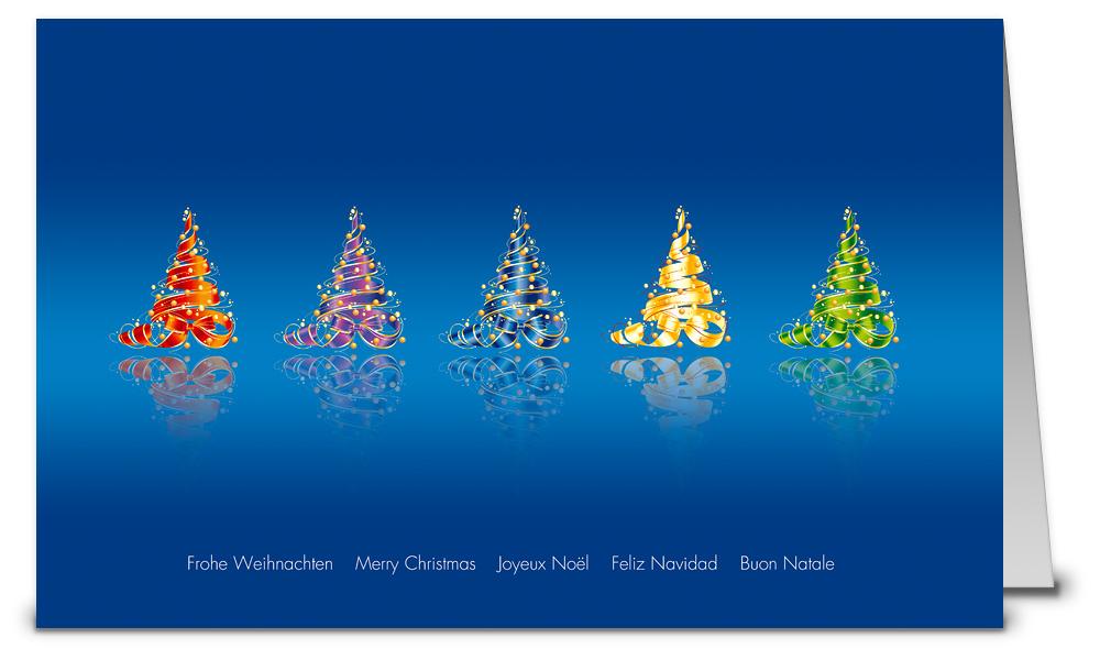 Blaue weihnachtskarten bei weihnachtskarten - Weihnachtskarten shop ...