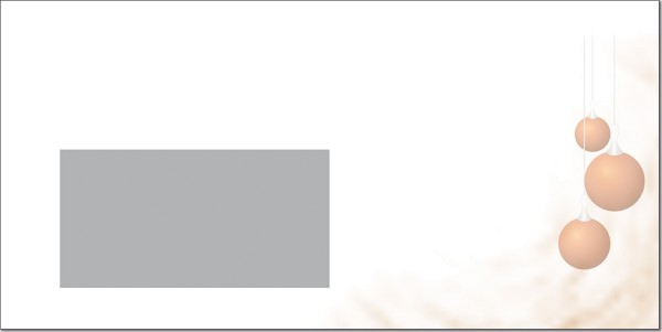 Weihnachtsbriefumschlag U08805