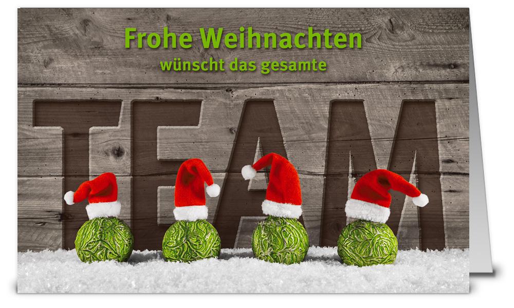 Kugelige weihnachtsgr e vom team 917227 - Weihnachtskarten shop ...