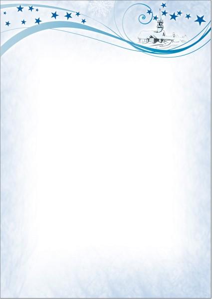 Weihnachtsbriefpapier B08703