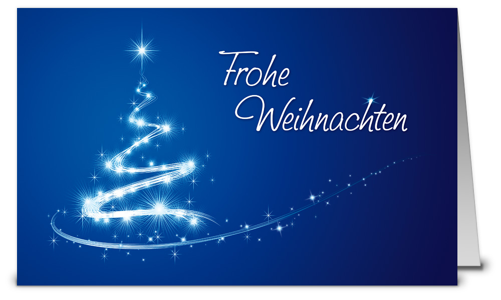 Baum aus sternen weihnachtskarten wk15182 - Weihnachtskarten shop ...