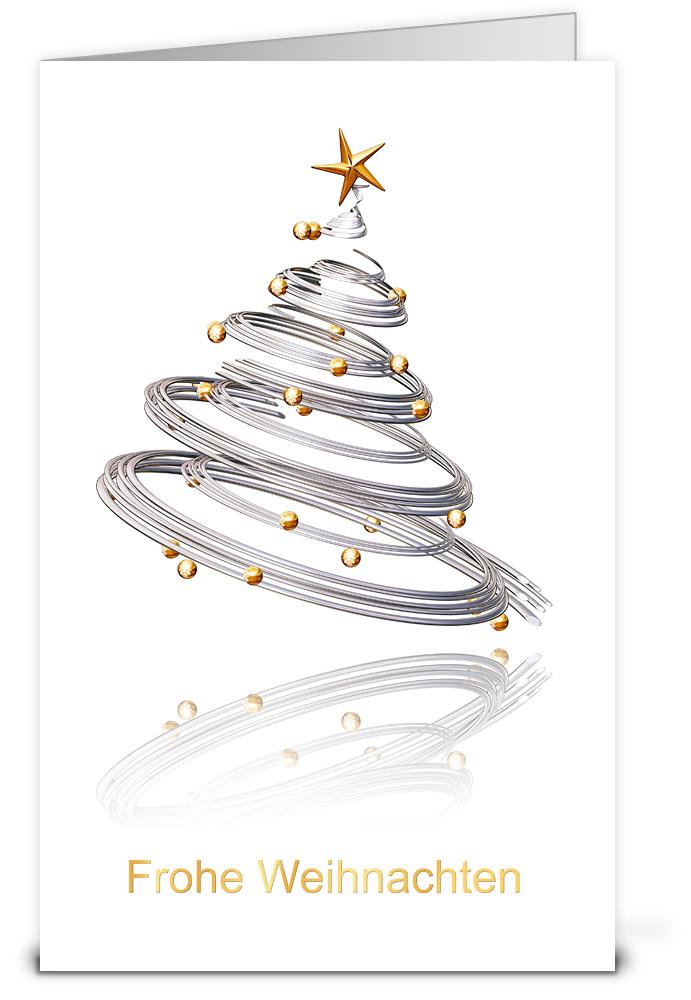 Dynamischer christbaum weihnachtskarten wk12165 - Weihnachtskarten shop ...
