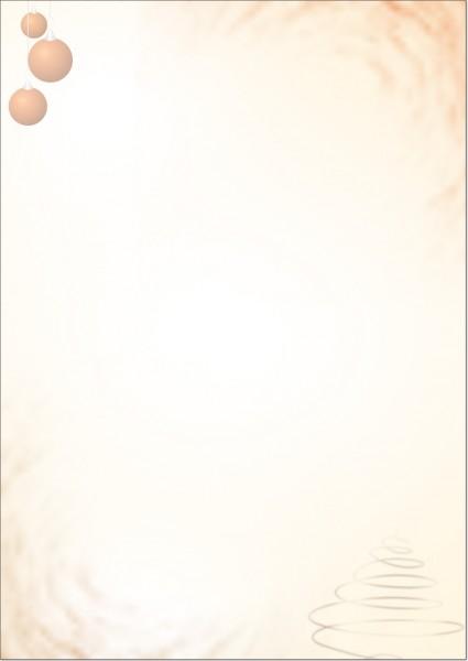 Weihnachtsbriefpapier B08705