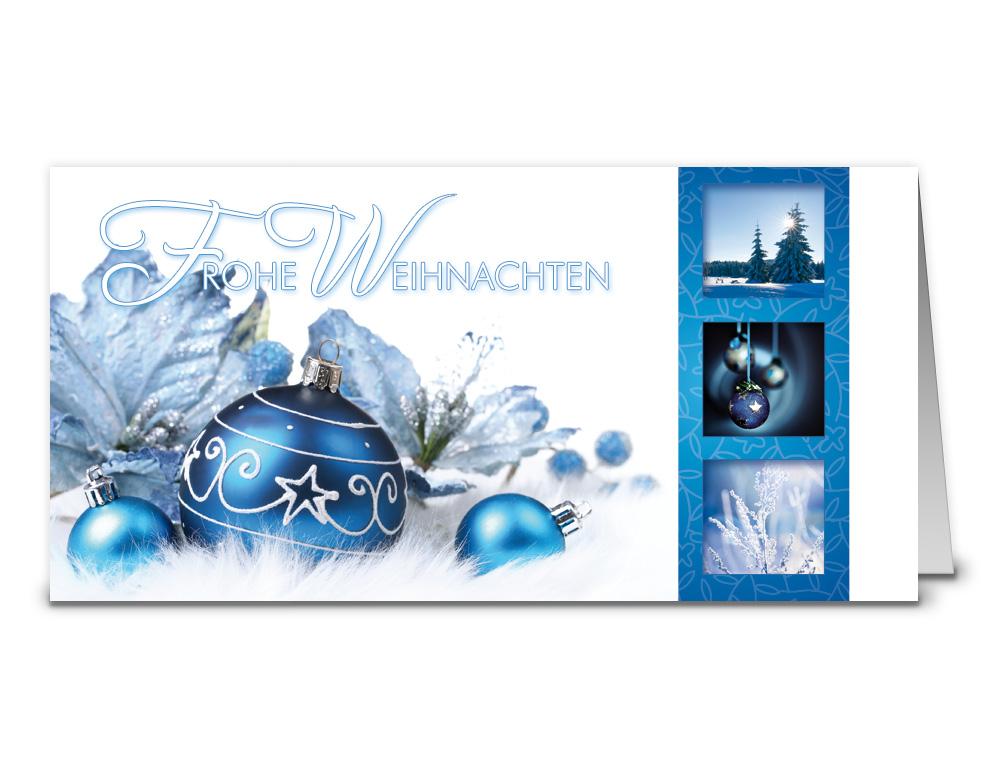 Weihnachtskarten din a6 oder din lang als sonderformat - Weihnachtskarten shop ...