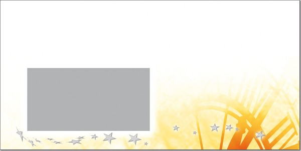 Weihnachtsbriefumschlag U08802